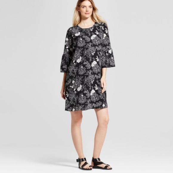 5185a1eea76e5 Ingrid & Isabel Dresses | Target Isabel Maternity Bell Sleeve Shift ...